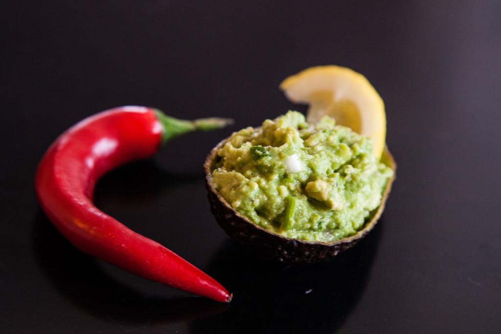 Guacamole aka avokádová salsa s chilli a koriandrem